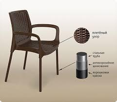 Плетеные <b>стулья из искусственного ротанга</b> для дачи - Купить в ...