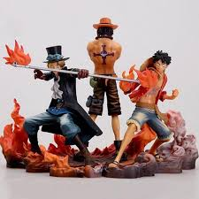 <b>One Piece Figure</b> 3pcs/lot <b>Ace</b> Luffy Sabo Collectible Action <b>Figure</b> ...