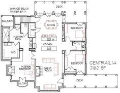 Small farmhouse   a covered front porch    Houseplans        plan Open floor plans for small houses