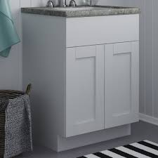 bathroom features gray shaker vanity: altra furniture shaker ampquot bath vanity base