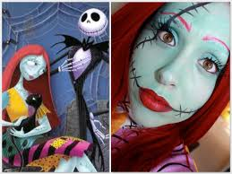 sally the nightmare before makeup delight