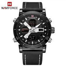 Naviforce Luxury Brand <b>Men Fashion Sport Watches Men's</b> Quartz ...
