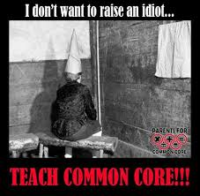 Me stupid parent. Me family live in cave. Me need Common Core save ... via Relatably.com