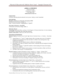 resume examples for pe teachers cover letter job application resume examples for pe teachers physical education teacher sample resume 2 physical education resume skylogic education