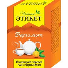 Купить <b>Чай Этикет черный</b> индийский с ароматом <b>бергамота</b> ...