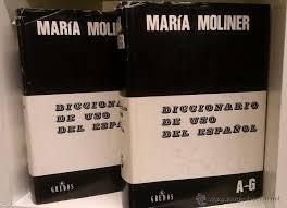Resultado de imagen de nueva edición diccionario de uso de maría moliner