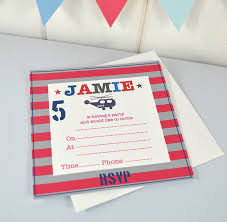 boys personalised party invitations by tilliemint boys personalised party invitations