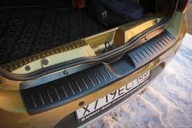 <b>Накладка на задний бампер</b> Рено Сандеро 2 | Renault Sandero 2 ...