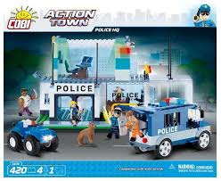 <b>Конструктор Cobi</b> Action Town 1574 Штаб-квартира <b>полиции</b>