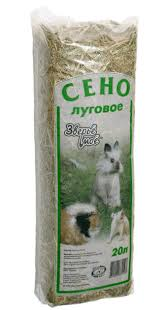 <b>Сено луговое</b> для грызунов, <b>Зверье мое</b>, брикет 20 л - купить ...