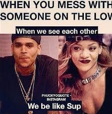 meme on Pinterest | Chris Brown, Chris Brown And Rihanna and Beyonce via Relatably.com