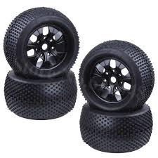 <b>4Pcs</b>/<b>Set</b> 140mm <b>RC 1/8</b> Monster Truck Tires Plastic Wheels ...