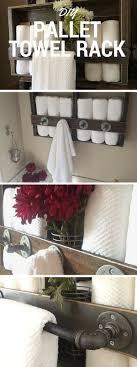 kitchen towel rack under sink check out the tutorial diy pallet towel rack crafts homedecor