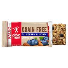 <b>Grain Free Granola Bars</b> | Caveman Foods