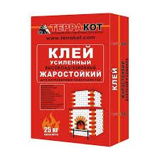 <b>Клей для печной плитки</b> жаростойкий Терракот, 25 кг купить ...