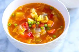 Easy Homemade <b>Vegetable Soup</b>