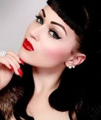 1950s makeup 13 steps to do pinup makeup