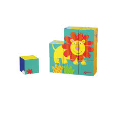 <b>Wild Animal Blocks</b> Puzzle – Classic World