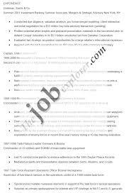 sample simple resume format resume examples simple simple resume investment banking resume format
