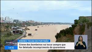Sirene dos bombeiros em Portimão vai tocar quando houver muita gente nas ruas