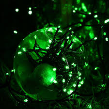 ball solar string light rgb m