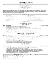 professional nanny resumes   riixa do you eat the resume last resume for nanny cover letter builder