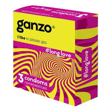 <b>Презервативы GANZO NEW</b> LONG LOVE, No3 (С анестетиком ...
