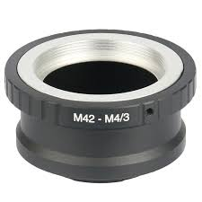<b>Lens Adapter Ring M42-M4/3</b> For Takumar M42 Lens And Micro 4/3 ...