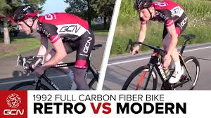 1992 Vs 2016: How Does One Of The First <b>Full Carbon Fiber Bikes</b> ...