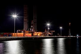 home holophane holophane provide high mast lighting for port of nigg extension