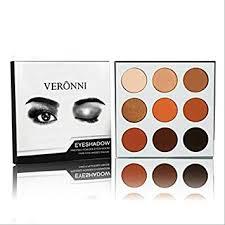 Cosmetics <b>Burgundy</b> Bronze <b>9 Colors</b> Shimmer Matte <b>Eyeshadow</b> ...
