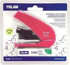 <b>Степлер Milan</b> (<b>N24</b>/<b>6, 26/6</b>) пластиковый до 20 листов с ...
