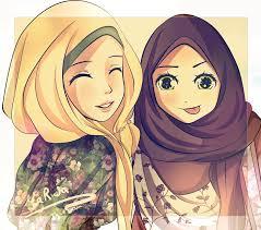 Image result for kartun muslimah bergerak