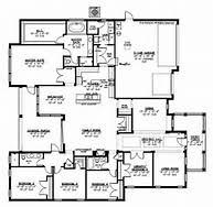 Big House Plans   Smalltowndjs com    Marvelous Big House Plans   Large House Floor Plans