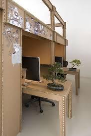 view in gallery cardboard office