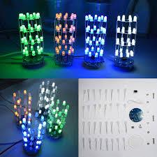 <b>3Pcs</b> Geekcreit® <b>DIY Yellow</b> Mini Star Flashing <b>LED</b> Cylinder Kit ...