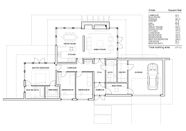 Large Bedroom House Plans   Modern One Story House Floor Plans    Large Bedroom House Plans   Modern One Story House Floor Plans