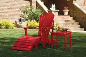 table set chairs custom custom finished solid acacia adirondack chair ottoman foot rest side t