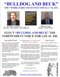 campaign flyers it s time to put local 100 members first follow us
