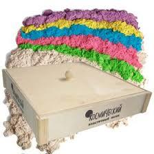<b>Набор для лепки</b>: деревянная песочница+ <b>Космический</b> песок ...