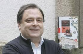 """SILVIA CAMESELLA - VIGO """"Libro del Camino de Santiago"""" es la última obra del autor Xosé Miranda Ruiz, que presentó ayer en la capital gallega coincidiendo ... - 2010-04-22_IMG_2010-04-22_22:16:42_soc2xose"""