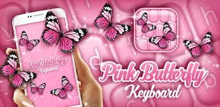 Pink <b>Butterfly</b> Keyboard - Apps on Google Play