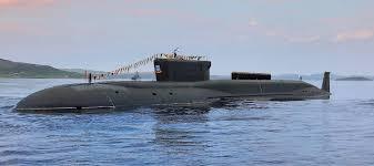 Russian submarine Yury Dolgorukiy