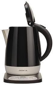 Купить <b>Чайник Polaris PWK 1748CAD</b>, черный по низкой цене с ...
