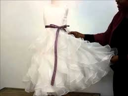 MyGirlDress.com : Dress Review -White <b>Elegant Flower Girl</b> Dress ...
