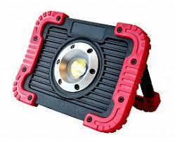 <b>Прожектор</b> светодиодный аккумуляторный <b>15W</b> COB + линза ...