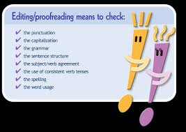 Proofreading Tips  Essay Writing