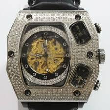 Наручные часы Techno Kc/Joe <b>Rodeo</b> Automatic Diamond Watch ...