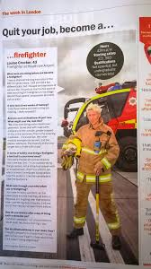 behind the scenes an airport firefighter your heathrow timeout female firefighter profile