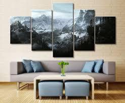 Online Shop <b>Home Decor Modular Canvas</b> Picture 5 Piece Elder ...